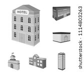 building and architecture... | Shutterstock .eps vector #1114803263
