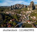 meteora in greece   Shutterstock . vector #1114865993