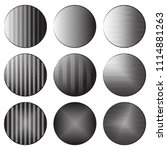 set of round banners with... | Shutterstock .eps vector #1114881263
