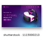 isometric view of vr box or...