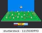 3d isometric football field... | Shutterstock .eps vector #1115030993