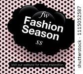 modern promotion square web... | Shutterstock .eps vector #1115052587