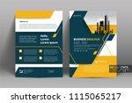 multipurpose vector layout... | Shutterstock .eps vector #1115065217