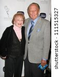 Small photo of Art Linkletter and wife Lois at the Academy of Television Arts and Sciences celebration of the 10th Anniversary of the Archive of American Television. Crustacean, Beverly Hills, CA. 06-04-07