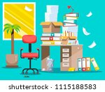 period of accountants and... | Shutterstock .eps vector #1115188583