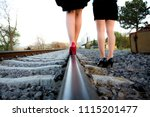 woman photo traveling in the... | Shutterstock . vector #1115201477