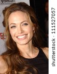 angelina jolie at the north... | Shutterstock . vector #111527057