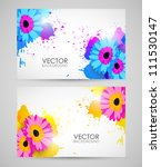 vector colorful banners with... | Shutterstock .eps vector #111530147