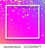 pink festive background with... | Shutterstock .eps vector #1115349677