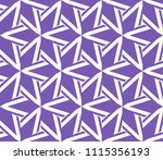 seamless pattern with symmetric ... | Shutterstock .eps vector #1115356193