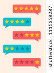 rating star like feedback....