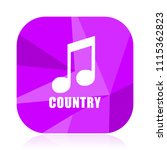 music country violet square...   Shutterstock .eps vector #1115362823
