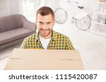 time to leave. optimistic... | Shutterstock . vector #1115420087