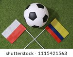 football cup competition... | Shutterstock . vector #1115421563