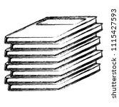 grunge education books academic ... | Shutterstock .eps vector #1115427593