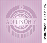 adults only retradults only... | Shutterstock .eps vector #1115444447