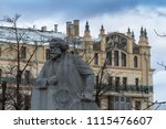 moscow  russia   europe   04 26 ... | Shutterstock . vector #1115476607