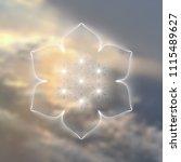 vector template of banner ... | Shutterstock .eps vector #1115489627