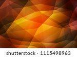 dark orange vector abstract... | Shutterstock .eps vector #1115498963