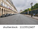 paris  france   june 11  2018 ... | Shutterstock . vector #1115512607