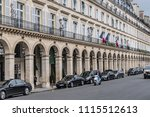 paris  france   june 11  2018 ... | Shutterstock . vector #1115512613