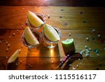 traditional mexican tequila... | Shutterstock . vector #1115516117