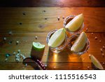 traditional mexican tequila... | Shutterstock . vector #1115516543