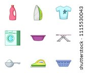 stroke icons set. cartoon set...   Shutterstock .eps vector #1115530043