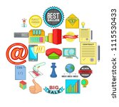 scammers icons set. cartoon set ...   Shutterstock .eps vector #1115530433