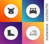 modern  simple vector icon set...   Shutterstock .eps vector #1115531753