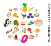 food business icons set....   Shutterstock .eps vector #1115536073