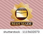 shiny badge with business... | Shutterstock .eps vector #1115632073