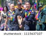 portland or  usa   june 17 ... | Shutterstock . vector #1115637107