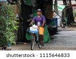 yangon  myanmar june 11  2018 ... | Shutterstock . vector #1115646833