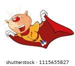 vector illustration of a cute...   Shutterstock .eps vector #1115655827