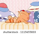 vector illustration of a cute...   Shutterstock .eps vector #1115655833
