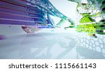 abstract white and colored... | Shutterstock . vector #1115661143