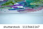abstract white and colored... | Shutterstock . vector #1115661167
