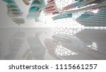 abstract white and colored... | Shutterstock . vector #1115661257