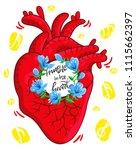 cartoon poster for music lovers....   Shutterstock .eps vector #1115662397