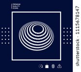 logo design   earth symbol | Shutterstock .eps vector #1115678147