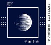 earth symbol logo | Shutterstock .eps vector #1115683253