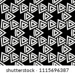 seamless pattern with symmetric ... | Shutterstock .eps vector #1115696387