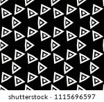 seamless pattern with symmetric ... | Shutterstock .eps vector #1115696597