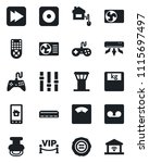set of vector isolated black...   Shutterstock .eps vector #1115697497