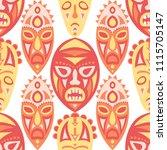 vector illustration. ethnic... | Shutterstock .eps vector #1115705147