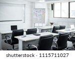 interior of meeting room in... | Shutterstock . vector #1115711027