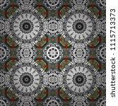 vector abstract geometric... | Shutterstock .eps vector #1115713373