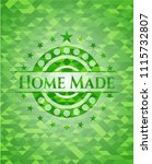 home made green emblem with... | Shutterstock .eps vector #1115732807