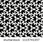 seamless pattern with symmetric ... | Shutterstock .eps vector #1115741357